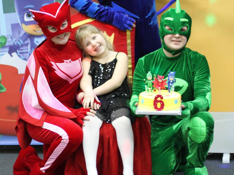 День рождения ребенка с Героями в масках
