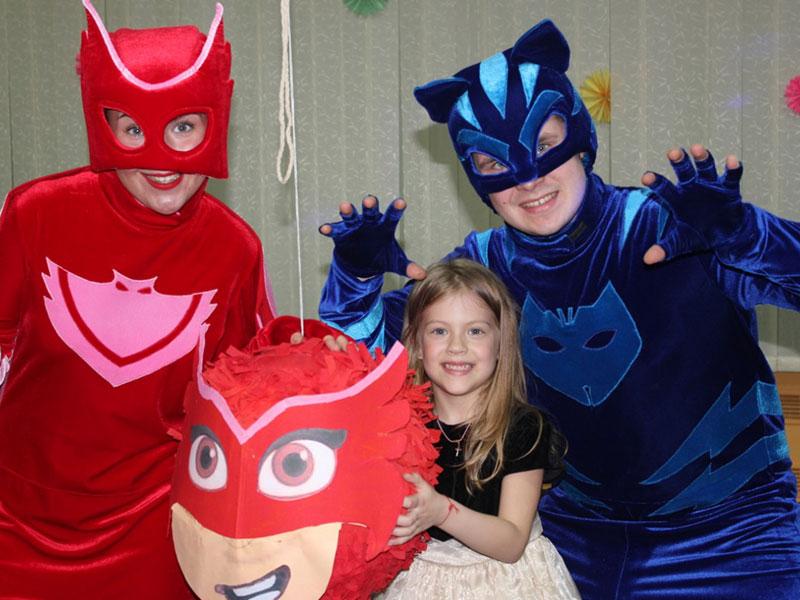 Чудесный детский день рождения с Героями в масках
