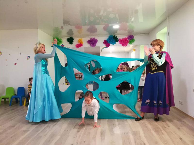 Детский день рождения в стиле Холодное сердце от Event агентства «SYRUP»