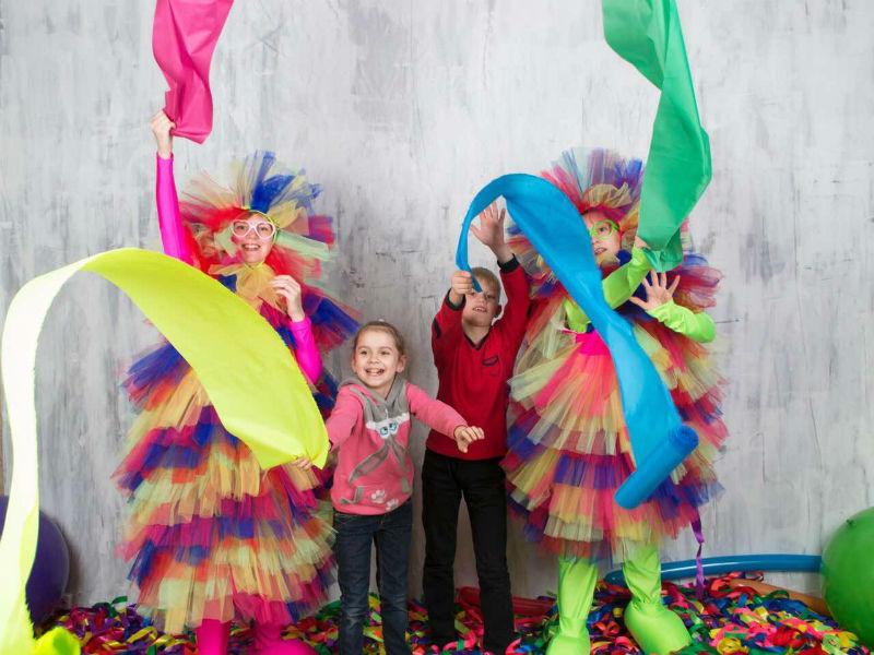 Лента шоу на детский праздник