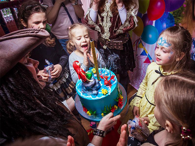 Аниматоры пираты на день рождения ребенка